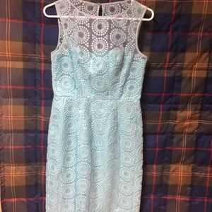 Maggy London light blue dress